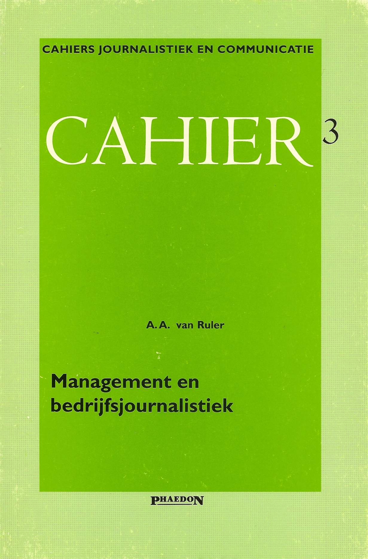 Management en bedrijfsjournalistiek